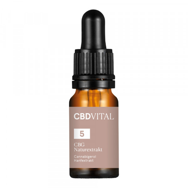 CBG Öl CBD Vital Naturextrakt 5%