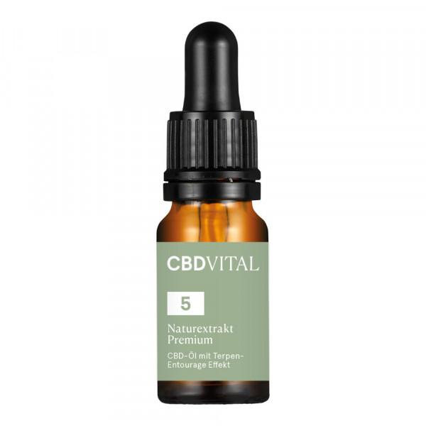 CBD Öl CBD Vital Naturextrakt Premium 5%